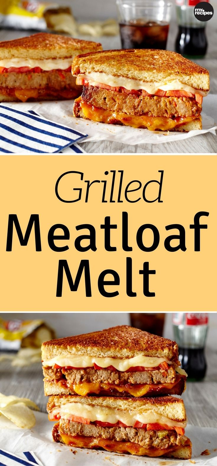 One of the best things about meatloaf for dinner is enjoying it the next day in the form of a fantastic and delicious down-home sandwich. Piled high with hearty layers of thick-sliced tomatoes, Havarti and cheddar cheese slices, and of course - meatloaf, this sandwich is sure to be an appetite satisfier. When prepped in a skillet, this grilled sandwich gets the ultimate homestyle flavor, reminiscent of getting a nostalgic bite to eat from a warm and welcoming Southern diner. | MyRecipes