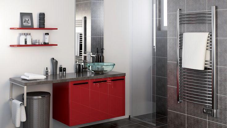 10 best salle de bains images on pinterest bathroom furniture showers and bathrooms. Black Bedroom Furniture Sets. Home Design Ideas