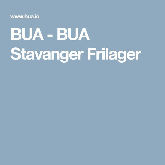 BUA - BUA Stavanger Frilager