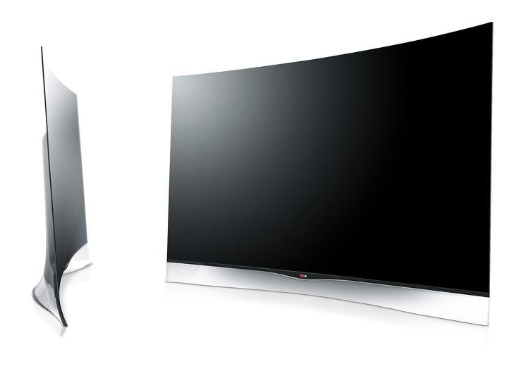 mdilelladesign:  LG Curved 3D OLED TV.