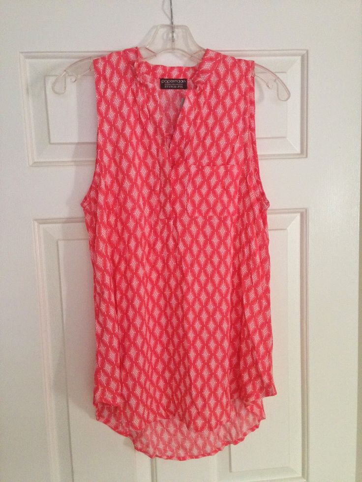 Papermoon Norris Henley Top- does this come in a different color? I have a very similar top in coral and white atripes