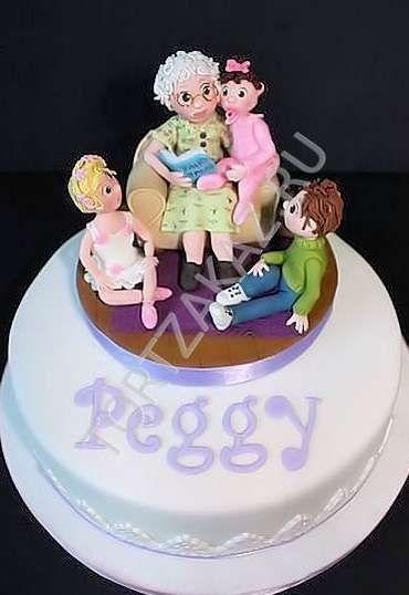 Оригинальные смешные торты для девочки на день рождения