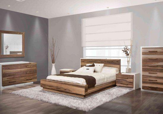 Meubles mobilier de chambre coucher viebois brand for Photos chambre a coucher