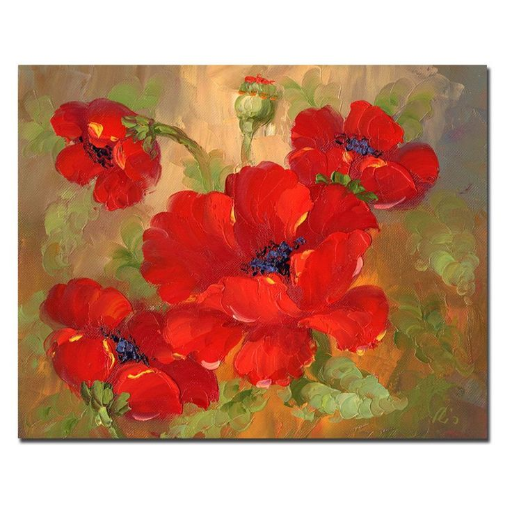 Have to have it. Poppies Wall Art $115.99