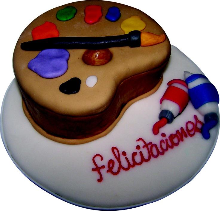 Paleta Pintura Cake