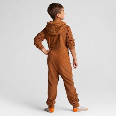Boys' Star Wars Chewbacca Blanket Sleeper - Brown M