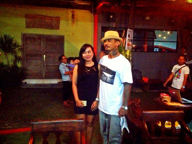#Warm #Welcome to our cool brader @JRX_SID at Warung Eat Well Ride Well SANUR GARAGE