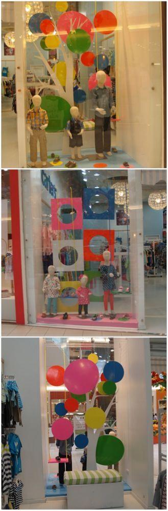 Escaparates tienda Lilluput ropa Ágora Mall. Primavera 2013 por storewindowsdr.