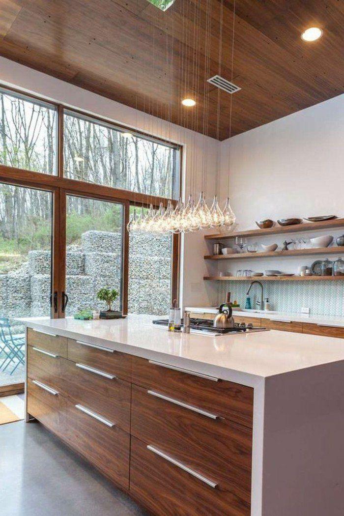 1000 ideas about cuisine quip e on pinterest poteau en for Cuisine avec poteau au milieu