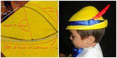 DIY sombrero Pinocho