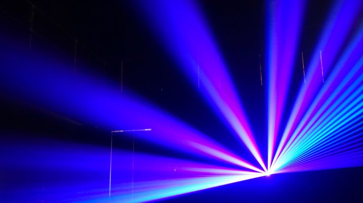 SCULPTING SPACE WITH LIGHT #laser