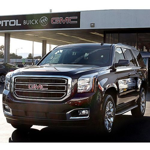 And another 2015 delivery.. and this time it's the all new 2015 #GMC #Yukon #SUV! Check it out at #CapitolBuickGMC at 909 Capitol Expressway Auto Mall in #SanJose. #caroftheday #DGDG #DelGrandeDealerGroup #BeHappy #BayArea #Buick #GMC