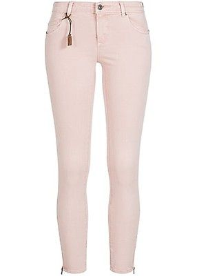 339468de7f4eec ONLY Damen Skinny Jeans Hose 5-Pockets Knöchellang Zipper NOOS peach whip  rosa - Art.-Nr.: 18042373