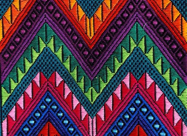Existen varias técnicas de bordado, destaca la conocida como el jaspe FOTO: Xinhua