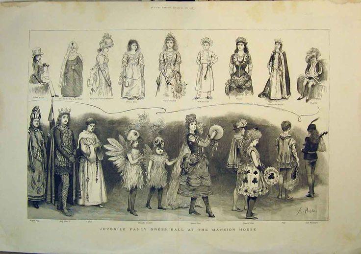 From Laura Vetter's article on Victorian Fancy dress at mnsochotdish.wordpress.com