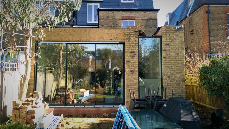 Progress photo of our exciting project in Teddington. Due to complete April 2017 #design #architecture #contemporary #light #space #London #family #home