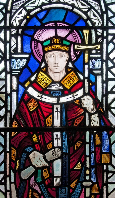 April 21, Anselm of Canterbury, died  1109 one of the greatest theologians of the Middle Ages.  He is remembered for emphasizing the maternal aspects of God, and for the theory that the Son of God became human in order to make necessary payment for our sin       by Lawrence OP,  Ans