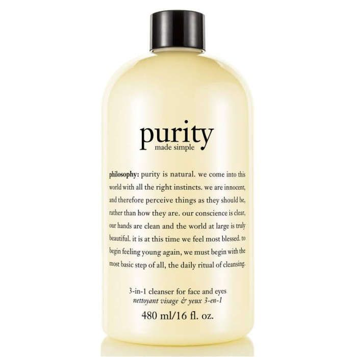 Rank & Style - Philosophy Purity Made Simple Cleanser #rankandstyle