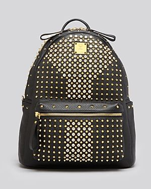 Mcm Backpack - Stark Special Medium Crystal-Handbags