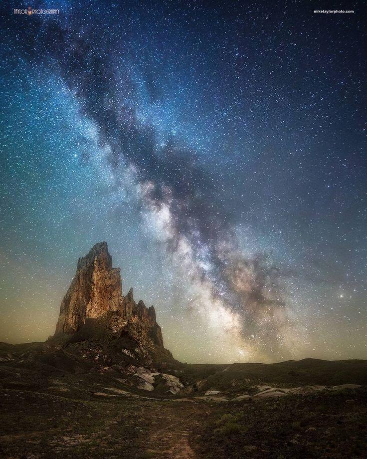 обработка фото ночного неба прошлый