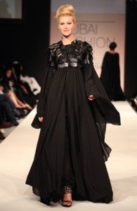 Abaya at the Dubai Fashion Show