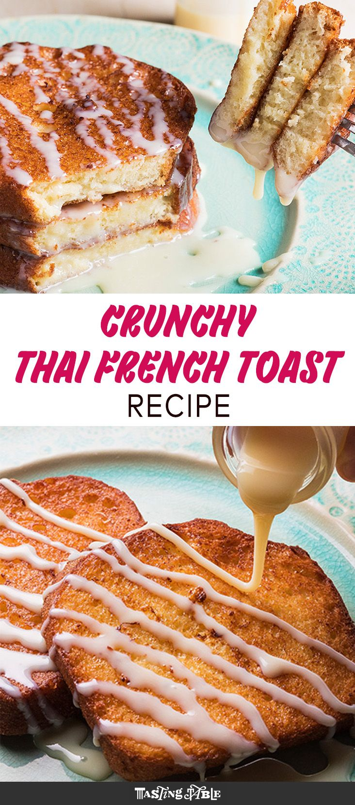 French toast fried to perfection