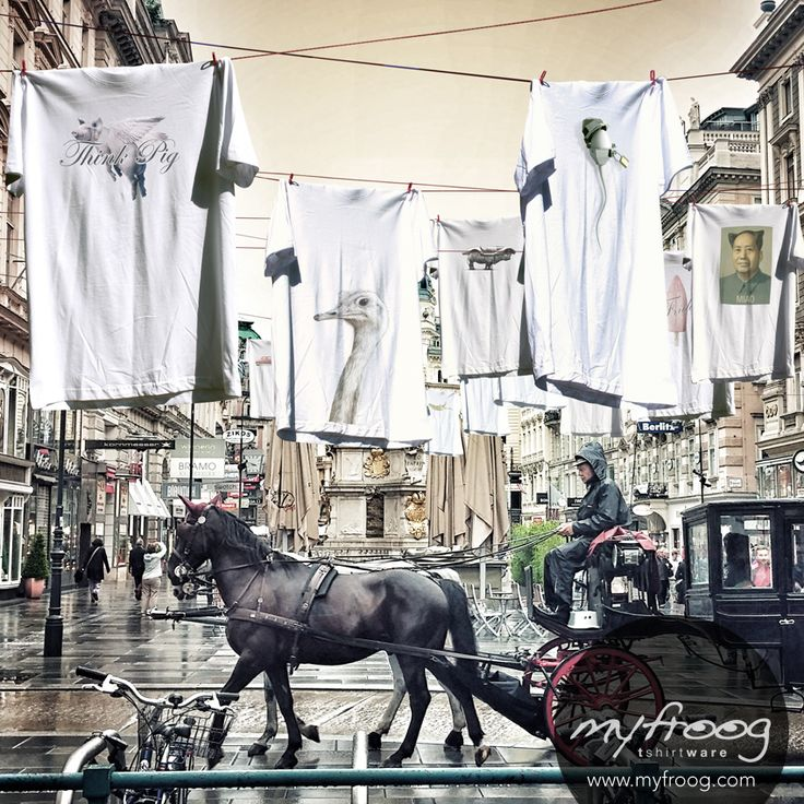 myfroog t-shirt collection campagna stampa e social