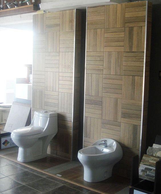Porcelanato Parquet Mini Bambu y Caramelo en 60x60. Olvidate del piso flotante y baldea tranqui! Show-Room de Difra. Av. de las Americas 221. Melo, Cerro Largo. Tel: 46424222
