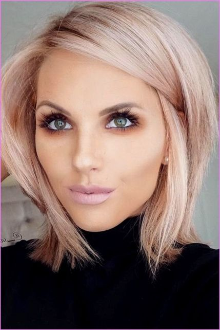 50 Chic Short Bob Hairstyles And Haircuts For Women In 2019 Modern