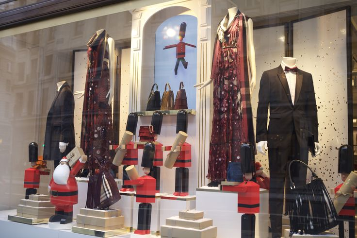 @burberry on #RegentStreet is ready to bring a touch of class to your #Christmas this season.
