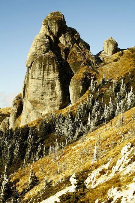 Goliath Tower (1793 m) Ciucas Mountains, Romania