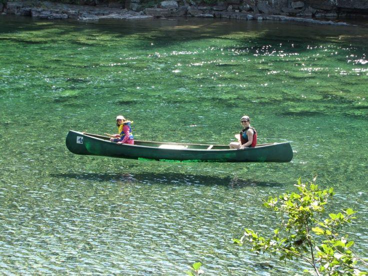 rivière Bonnaventure en Gaspésie