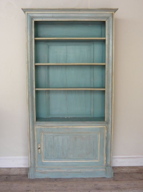 Exceptional Painted Bookshelves Part - 8: French Painted, Bookcase, Bookshelves