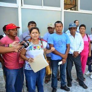 México: Pobladores desplazados de San Antonio Ebulá exigen reparación al gobierno de Campeche