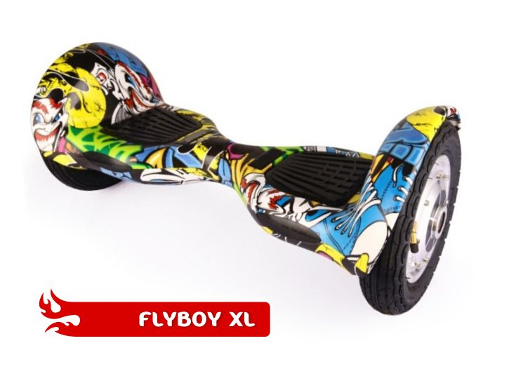 FlyboyXL in Graffiti. This model has more GO than the other models. With it's larger, inflatable wheels, it can go where the others can't. Visit www.flyboys.co.za for more specs on this model and more