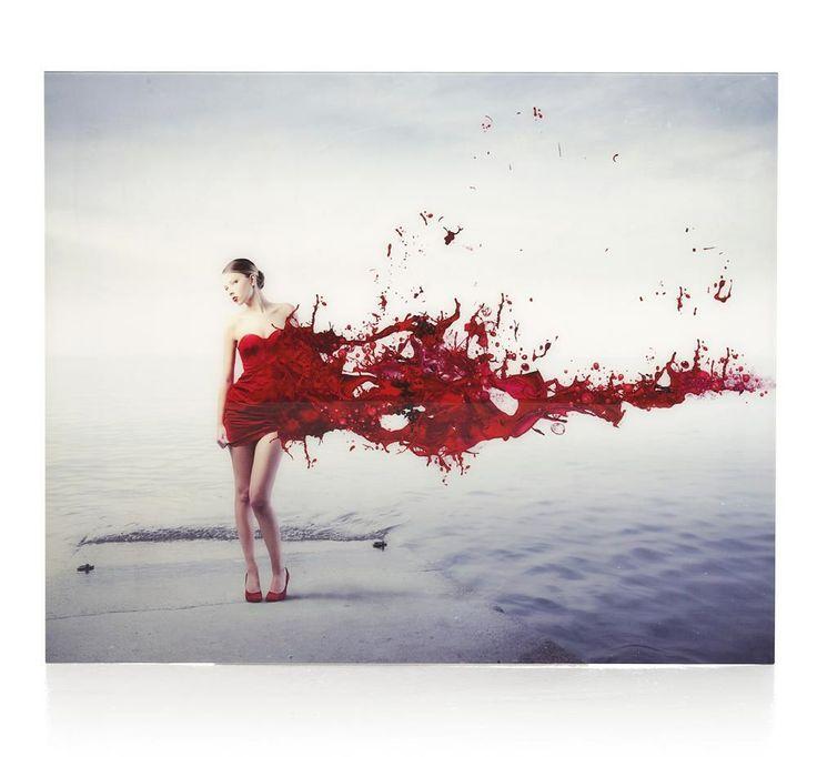 Red Dress Splash