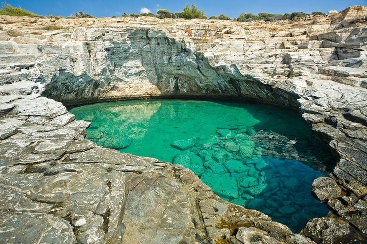 #Thassos. A #naturalswimmingpool! Amazing place! Visit the #Greekislands during your next summer holidays!