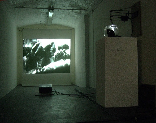 David Leleu, engine, light, Photography and Video projection, 2012, Lille, FR