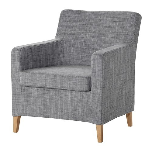 KARLSTAD Armchair IKEA Slim Lines, Easy To Place. High Resilience  Polyurethane Foam And Polyester In Seat Cushion For Great Seating Comfort.