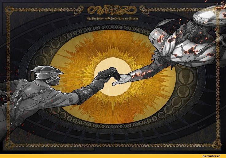 tfie fire fa§es, an5 Xor5s fjcroe no thrones QYfrjy к _ » ~—- ( Y tjy . чщ,Solaire of Astora,DS персонажи,Dark Souls,фэндомы,Dark Souls 3,BloodBorne,Игры,Hunter (Bloodborne),game art,DualShock 4,BB art,DS crossover