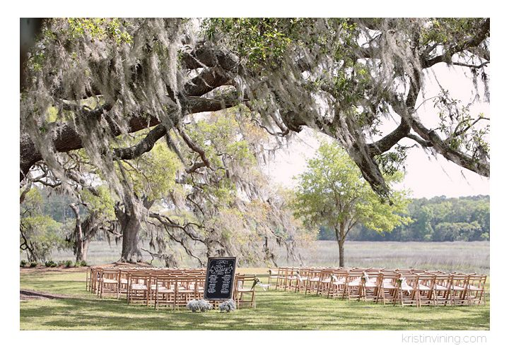 wedding venue, outside, moss trees, wedding day, isle, Cypress Trees Plantation Wedding, Charlotte NC Wedding Photographer, Kristin Vining Photography