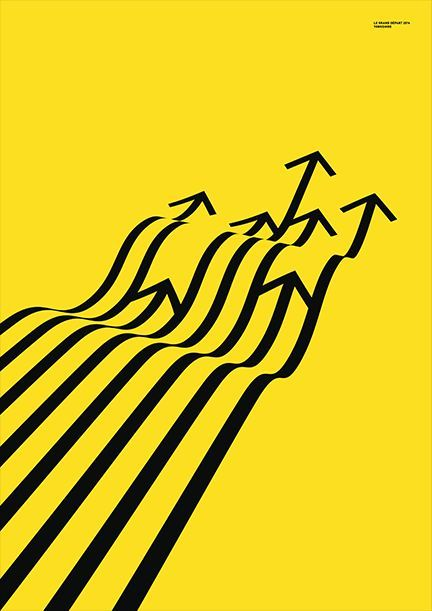 Le Grand Depart - Up! by Print-Process
