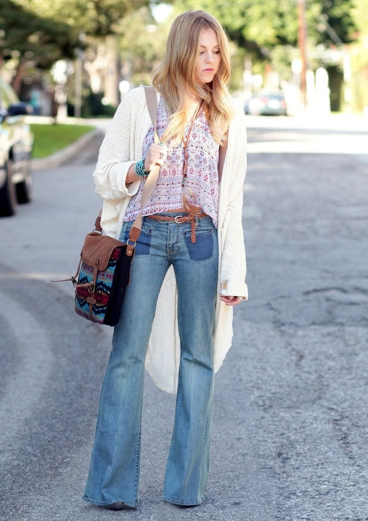 casual boho outfit