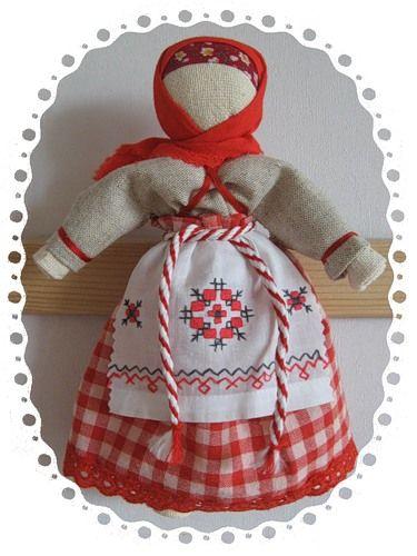 История народной тряпичной куклы-мотанки (КУКЛЫ-ОБЕРЕГИ). Очистительная кукла.