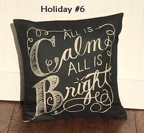 Christmas Holiday Pillow Covers