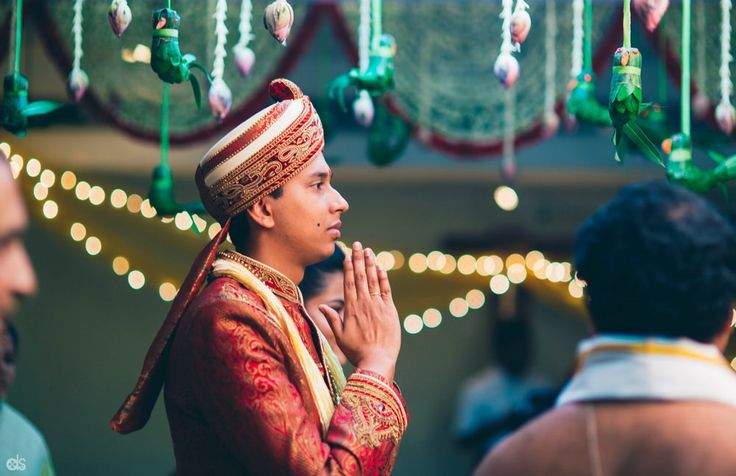 Groom looked just as charming in his ethnic sherwani.