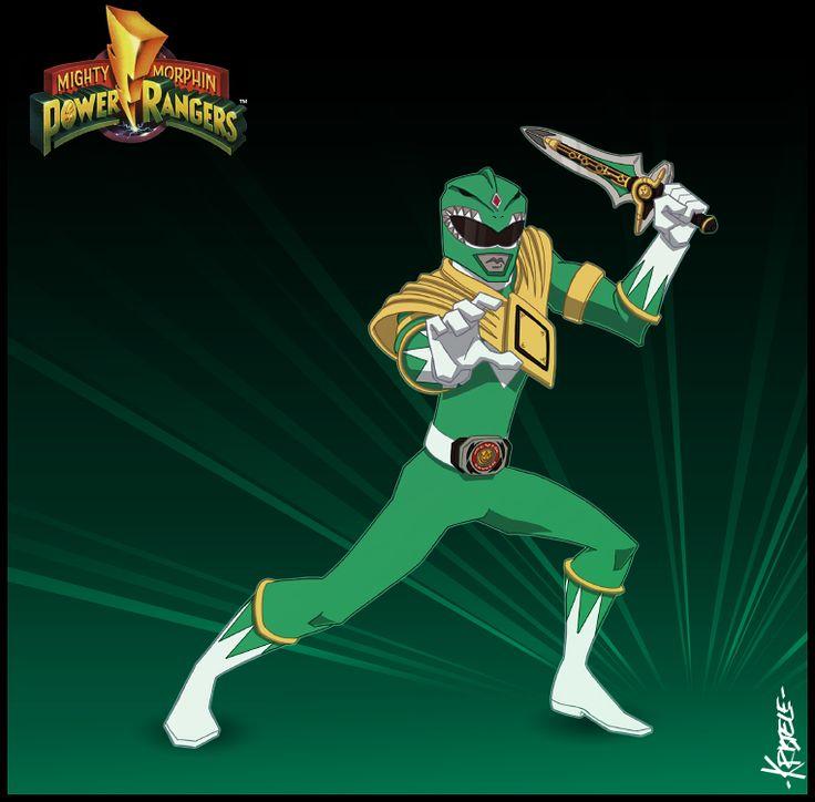 The Green Ranger by Kristele on DeviantArt