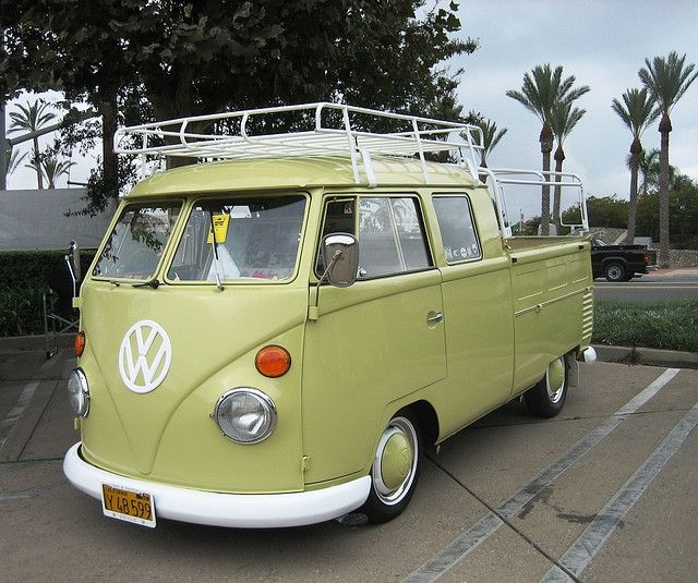 VW Drillers Pickup truck for Gap Year I No Darlin I can be Silly, it's being serious that's Dif..VW Van Truck