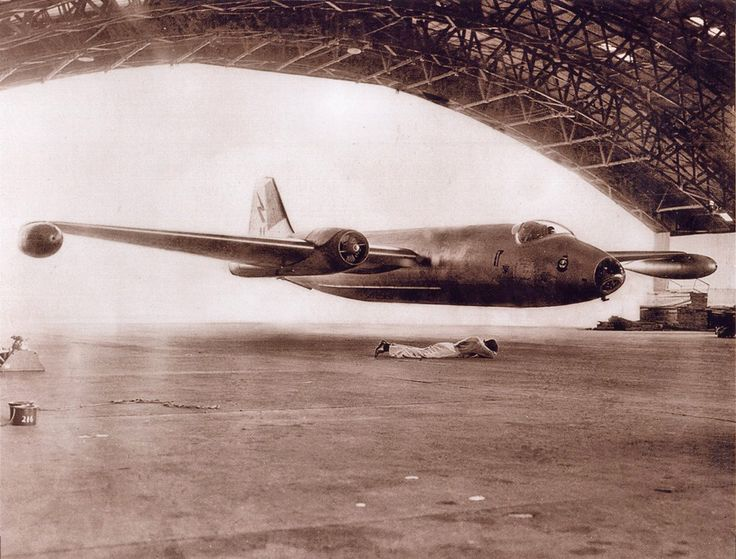 ofspacifica: 'RAAF Un-Official' Canberra Mk20 A84-216 'Hangar Fly Through' Amberley C1970 - Photographer Unknown - via Wal Nelowkin