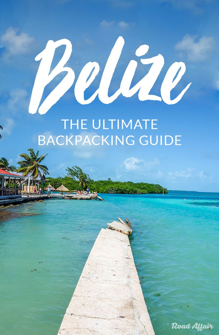 The ultimate travel guide to backpacking Belize on a budget, with tips on how to save money, cheap places to eat, things to do, and so much more.